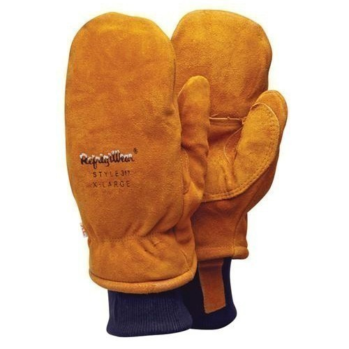Insulated Leather Mitten -20 Thumbnail