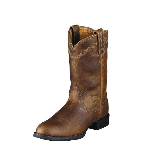 Women's Heritage Roper Boot - Brown Thumbnail