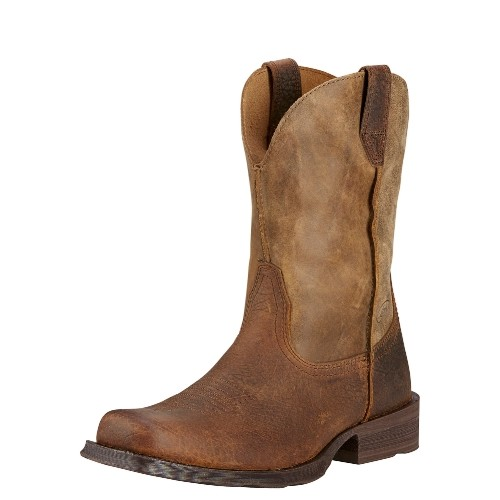 Ariat Rambler Square Toe Boot - Brown Thumbnail