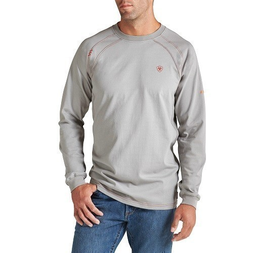 Flame-Resistant Work Long-sleeve Crew Thumbnail