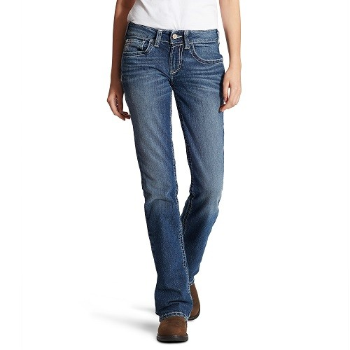 Women's FR Mid Rise Boot Cut Jean Thumbnail