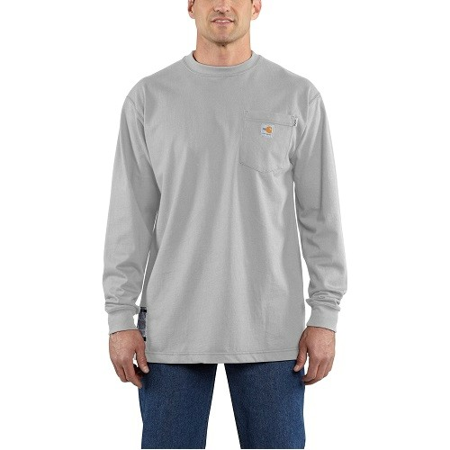 Tall Flame-Resistant Force� Cotton L/S Tee Thumbnail
