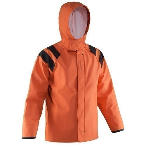 Women's PVC/PU Hooded Jacket Thumbnail