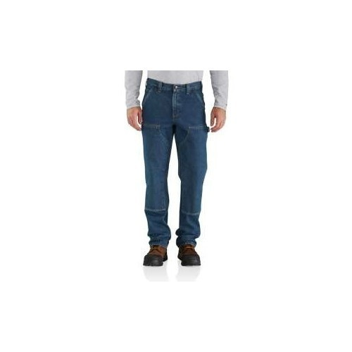 Relaxed Fit Double Front Logger Jeans Thumbnail