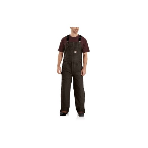 Tall Washed Duck Insulated Bib Overall Thumbnail