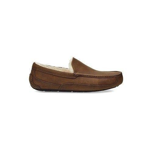 Ascot Tan Leather Slipper Thumbnail
