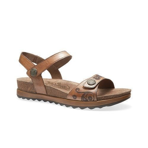 W Paola Adjustable Sandal Caramel Thumbnail