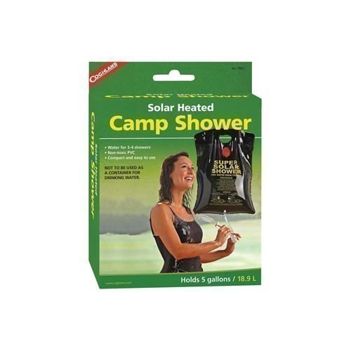 Solar Heated Camp Shower Thumbnail