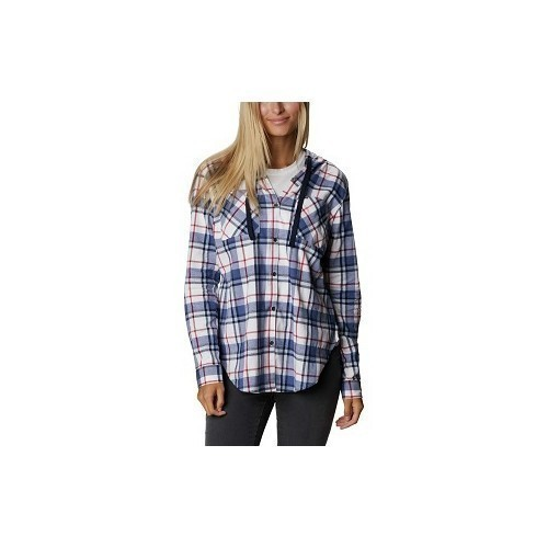 Women's Anytime Stretch Hooded Shirt Thumbnail