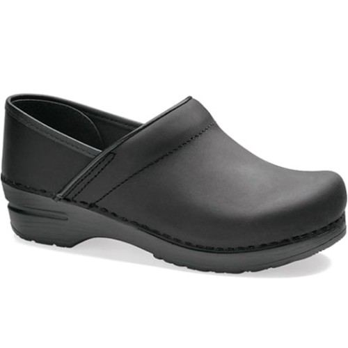 Women's Professional Oiled Clog / Black Thumbnail
