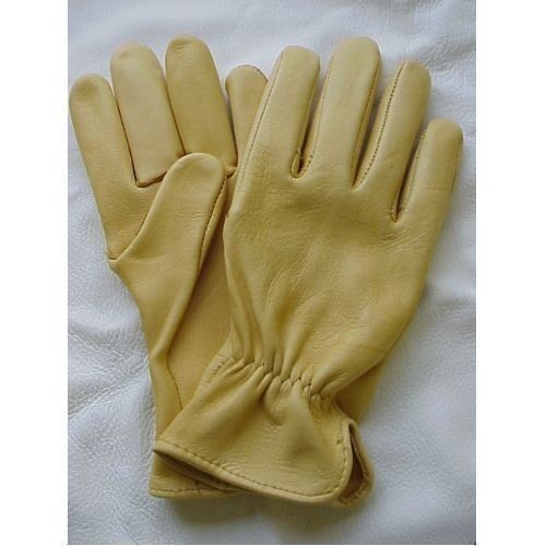 Geier Tan Medium Weight Deerskin Work Glove Thumbnail