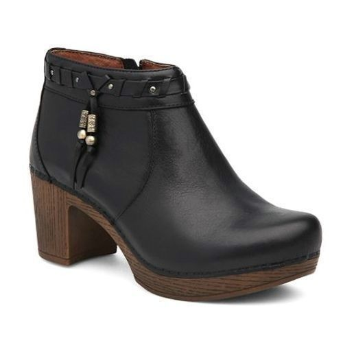 Dabney Heeled Bootie Black Thumbnail
