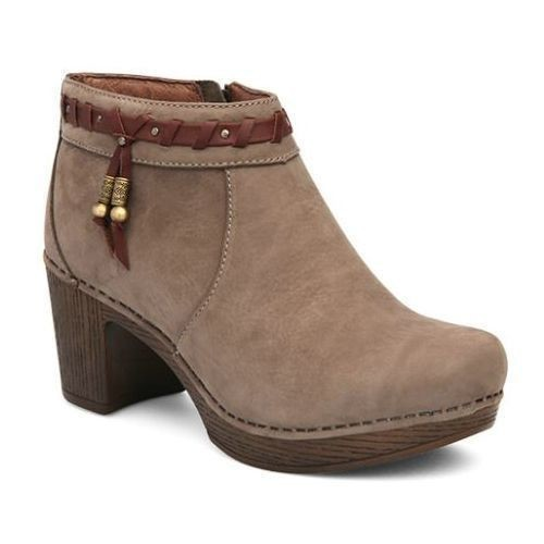 Dabney Heeled Bootie - Taupe  Thumbnail