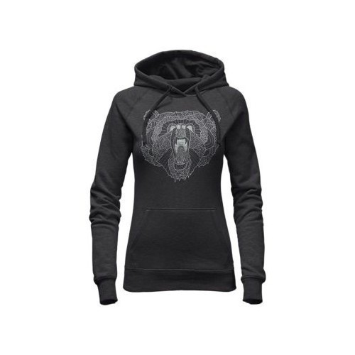 Women's Grizzly Bear Pullover Hoodie Thumbnail