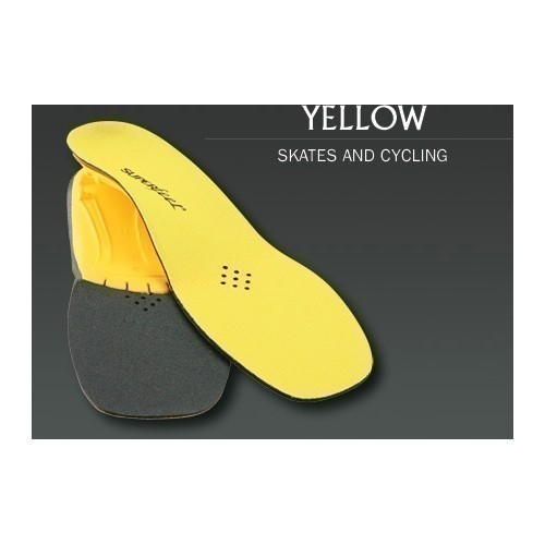 Yellow Heel to Toe Insole Thumbnail