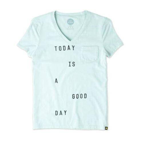 Women's Today is a Good Day Pocket Sleep Vee Thumbnail