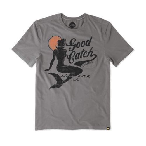 Good Catch Mermaid Pocket Sleep Tee Thumbnail