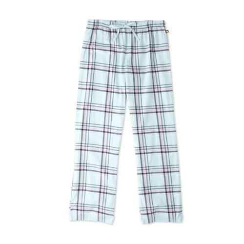 Women's Mint/Pink Plaid Sleep Pant Thumbnail