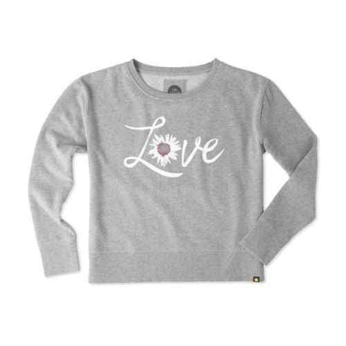 Women's Watercolor Daisy Love Go-To Crew Thumbnail