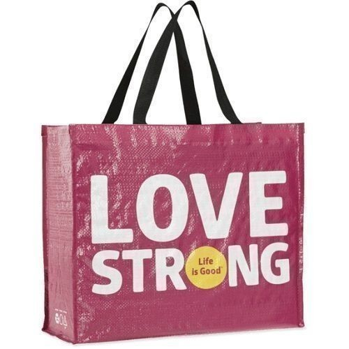 Love Strong Recycled Tote Thumbnail