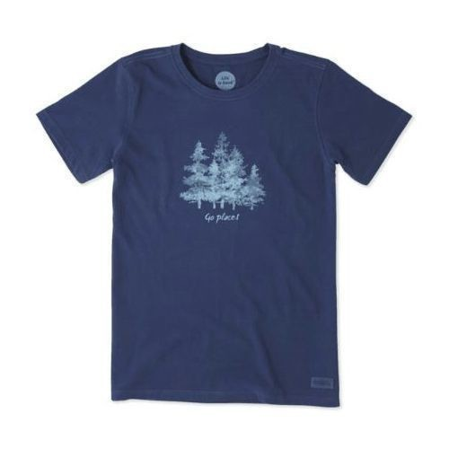 Women's Watercolor Trees Crusher Tee Thumbnail