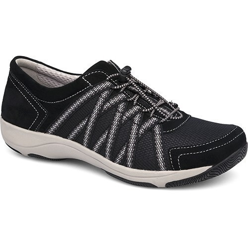 Honor Mesh Tennis Shoe - Black Thumbnail