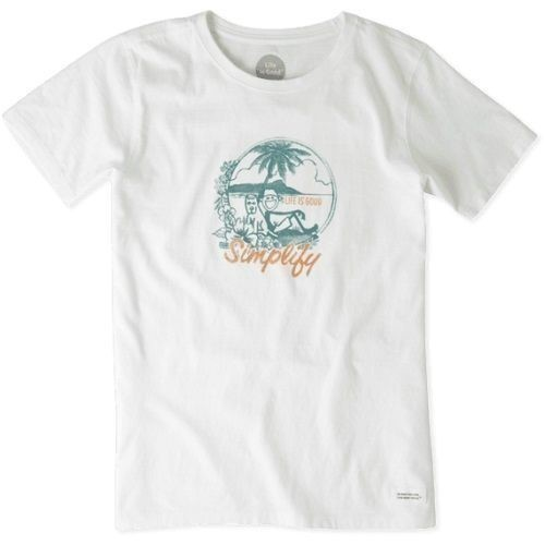 Women's Watercolor Simplify Beach Crusher Tee Thumbnail