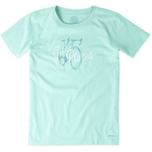Women's Crusher Tee Go Places Bike Thumbnail