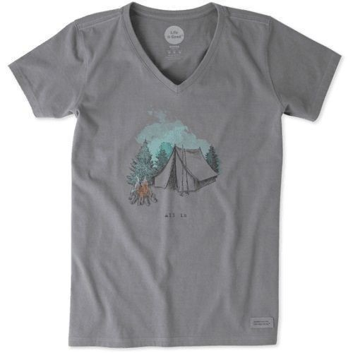 Women's Engraved All In Tent Crusher Tee Thumbnail