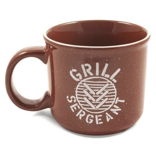 Grill Sargeant Stripe Camp Mug 16 oz. Thumbnail