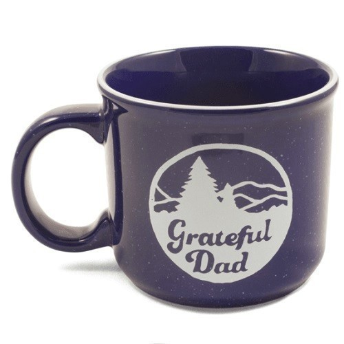 Grateful Dad Mountains Camp Mug 16 oz.  Thumbnail