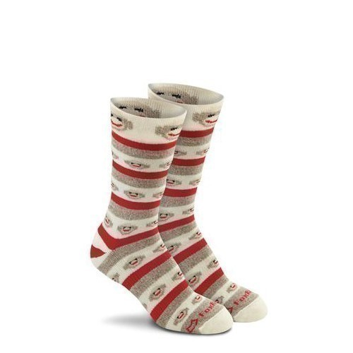 Women's Monkey Stripe Socks Thumbnail