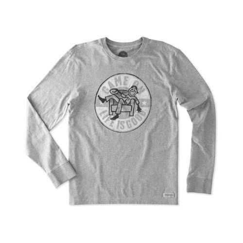 Game On Football Long Sleeve Crusher Tee Thumbnail