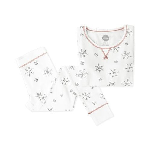 Women's Snowflake Pattern Thermal Sleep Set Thumbnail