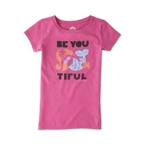 Girl's Be You Mermaid Crusher Tee Thumbnail