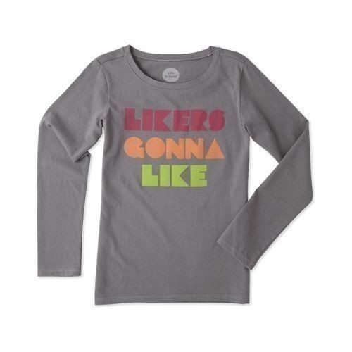 Girl's Likers Gonna Like Long Sleeve Tee Thumbnail
