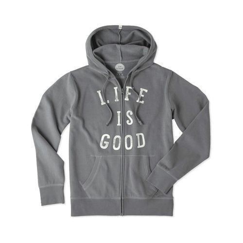 Women's Life is Good Go-To Zip Hoodie Thumbnail