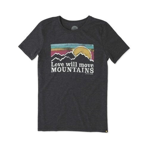 W SS Cool Tee Mountains Sunset Thumbnail