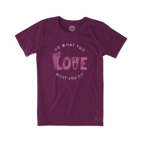 Women's Crusher Tee - Love Garden Thumbnail