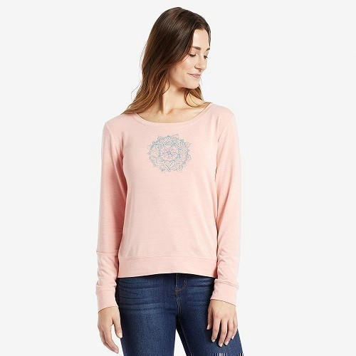 Women's Dream Mandala Scoop Pullover Thumbnail