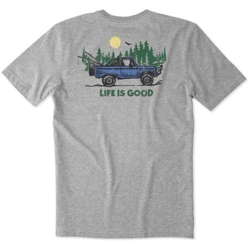 ATV Life is Good Pocket Crusher Tee Thumbnail