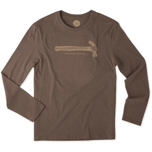 Handheld Device Hammer Long Sleeve Smooth Tee Thumbnail
