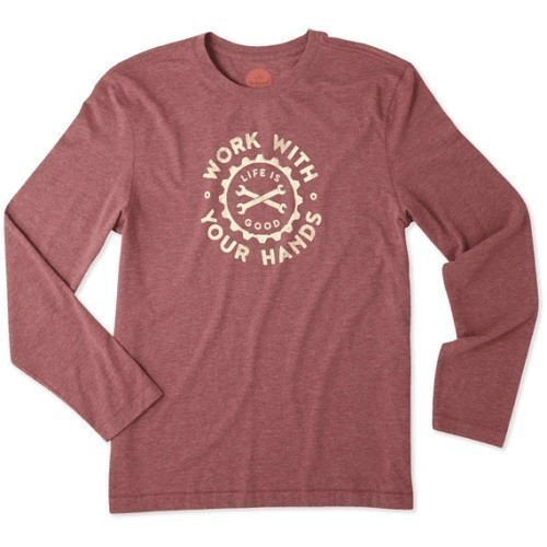 Working Hands Long Sleeve Cool Tee Thumbnail
