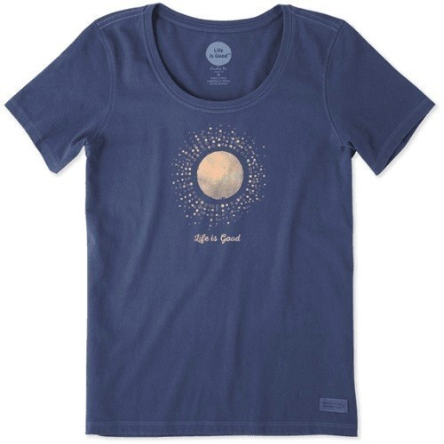 Women's Sunray Circles Crusher Scoop Tee Thumbnail