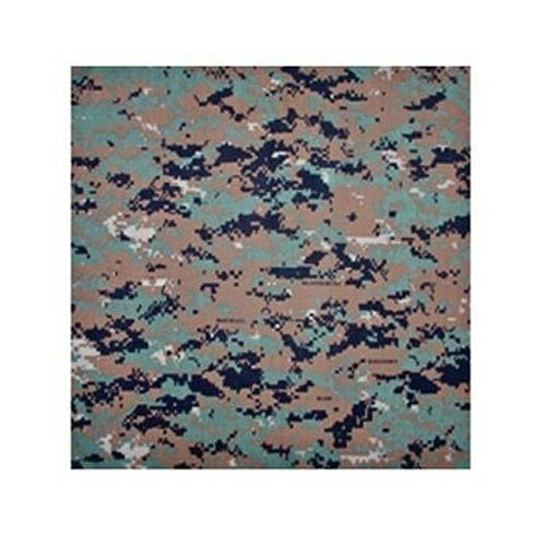 Woodland Digital Camo Bandana Thumbnail