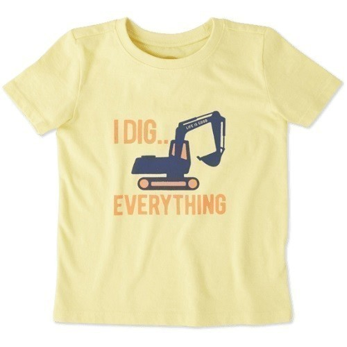 Toddlers I Dig Everything Crusher Tee Crew Thumbnail