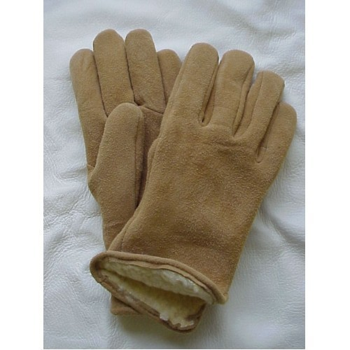 Size 13 Deer Suede Pile Lined Glove Thumbnail