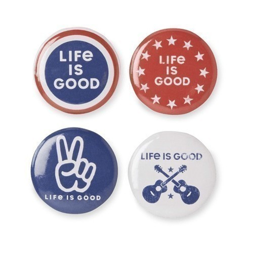 Americana Positive Pins 4-pack Thumbnail