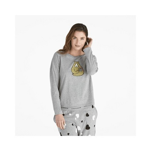 Women's Bearly Snuggle Up Relaxed Top Thumbnail