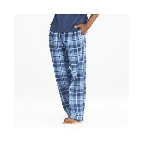 Darkest Blue Plaid Pant Thumbnail